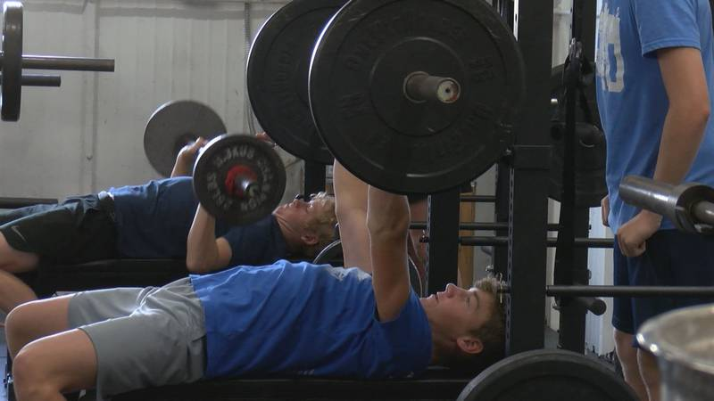 At Endunamoo Strength & Conditioning in Wichita Falls, some of Texoma's athletes are...