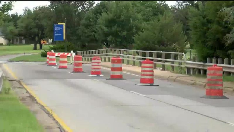 Part of Midwestern Parkway closed for repair