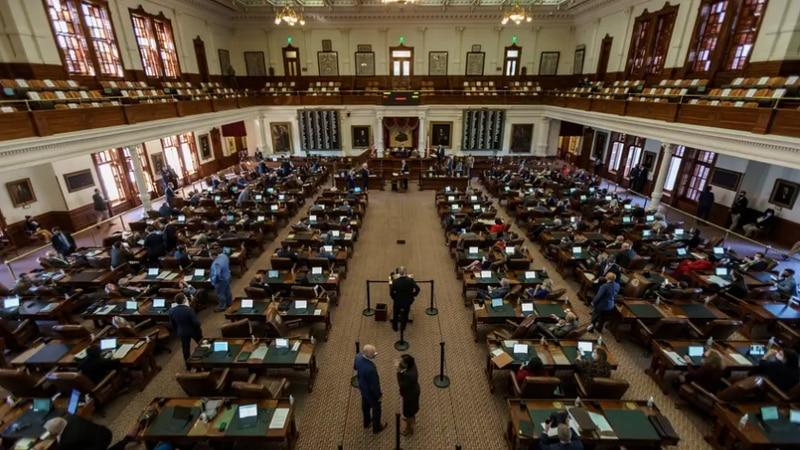 The Texas House of Representatives on Jan. 13.