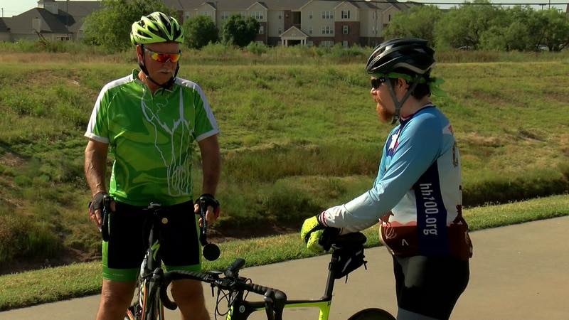 Foix is registered for the 100-mile ride and Mills is set for 75-mile ride.