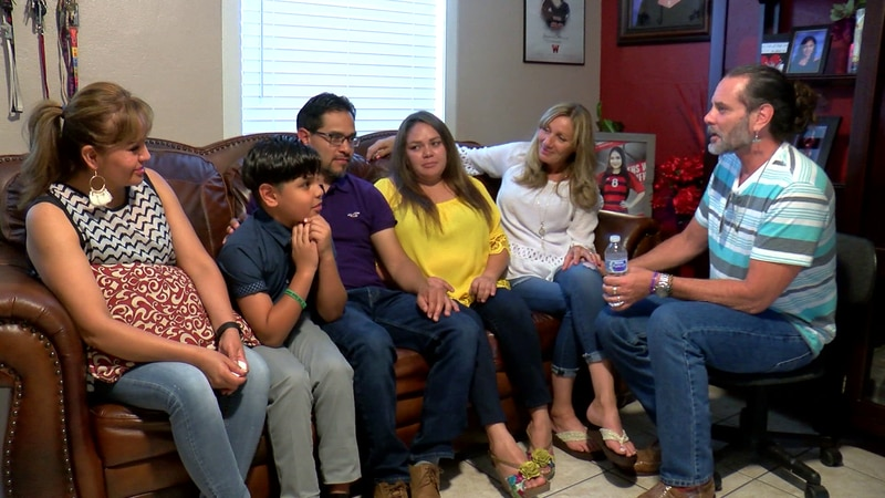 The Garcia family is fighting for justice with the help of a family that has already been...