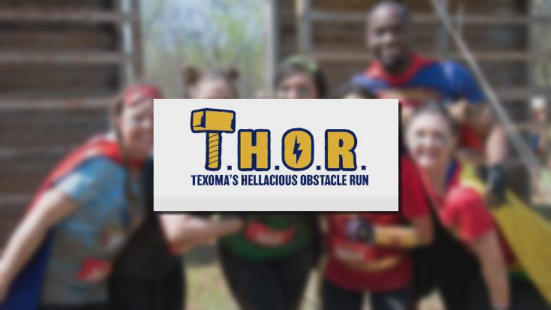 The sign ups for this year's T.H.O.R. event are giving back to the community.