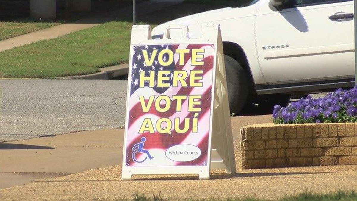There will be 22 locations in Wichita Falls for county residents to vote. (Source: KAUZ)