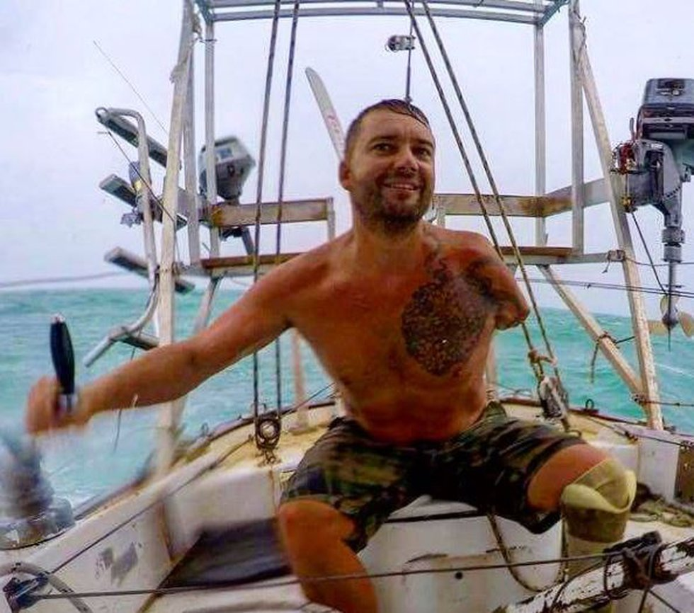 Solo sailor Dustin Reynolds is on the verge of completing a record-setting voyage around the...