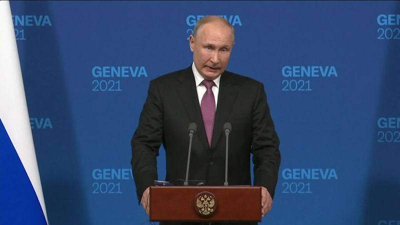 Russian President Vladimir Putin says the United States and Russia will begin consultations on...