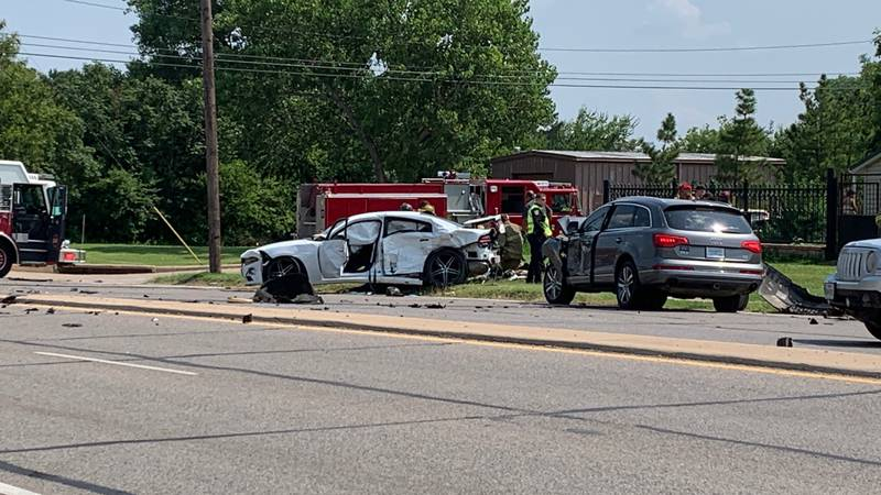 At least two injured in accident on Wichita Street, N. Martin Luther King Jr. Blvd
