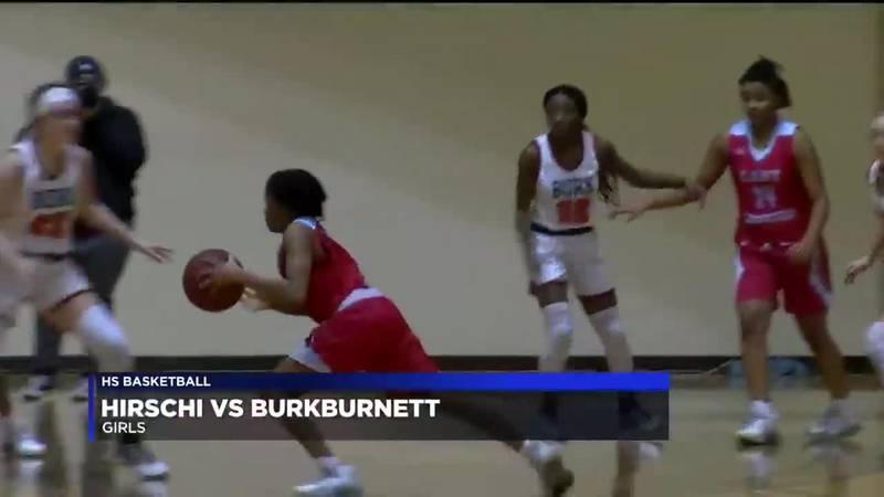 Hirschi vs Burkburnett girls basketball highlights