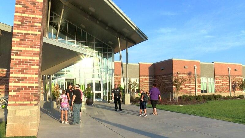 Burkburnett ISD students went back to school on Friday.