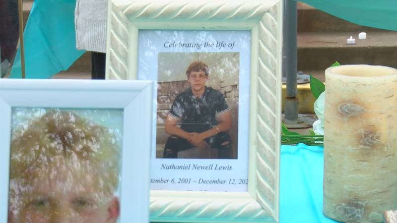 Family and friends attend vigil for Nathaniel Lewis