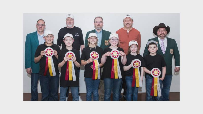 All six team members were named reserve champions.