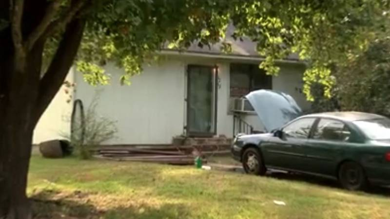 A woman whose body was found wrapped in plastic in her home in the 1200 block of Martha Street...
