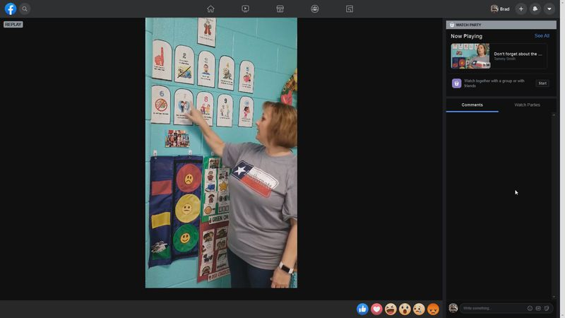 Students can watch the videos at home.