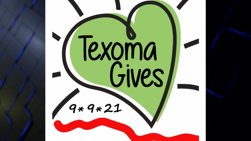 Texoma Gives lasts until 10 p.m. Thursday, Sept. 9.