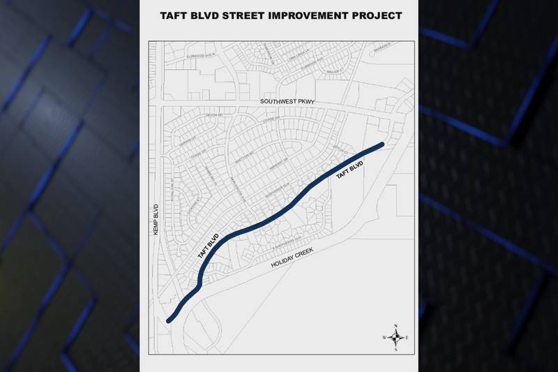 The construction work will be done in five phases and is expected to take about 18 months to...