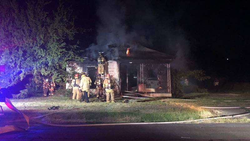 Crews were able to knock out the fire in about 20 minutes.