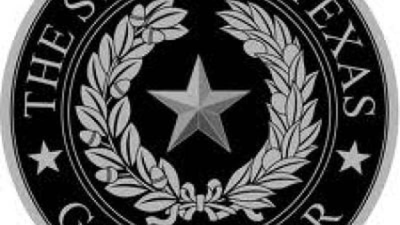Official seal, State of Texas Governor