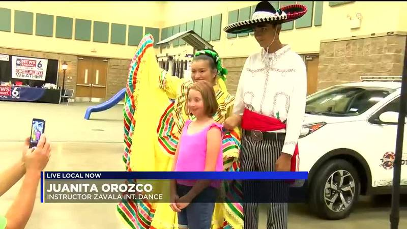 There was giveaways, vendors and live performances from the Zavala International Dance Program