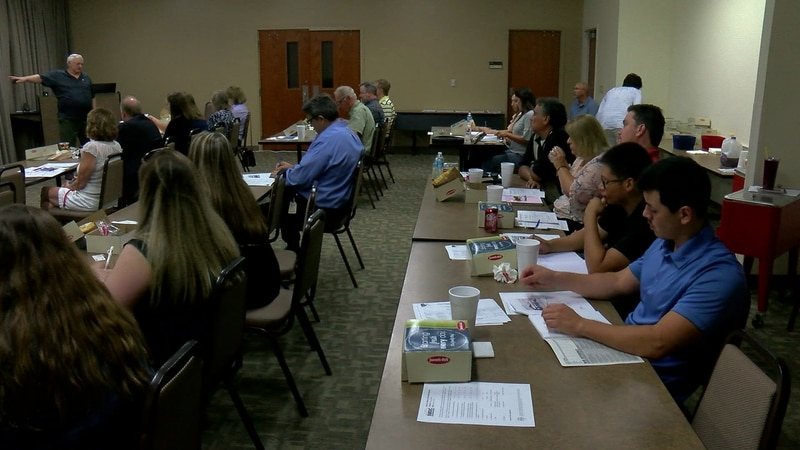 A group of small businesses gathered today to learn about government contracts.
