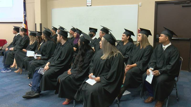 Students earned their GED's through the literacy and education programs