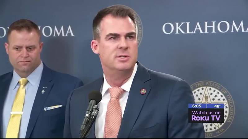 Governor Kevin Stitt has called for a special session to address redistricting in the state.