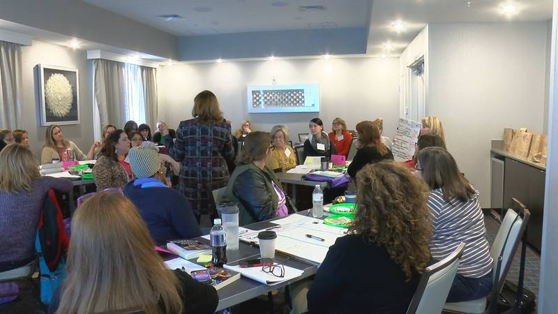 Several Texoma educators, caregivers and counselors attended a seminar to learn how to better...