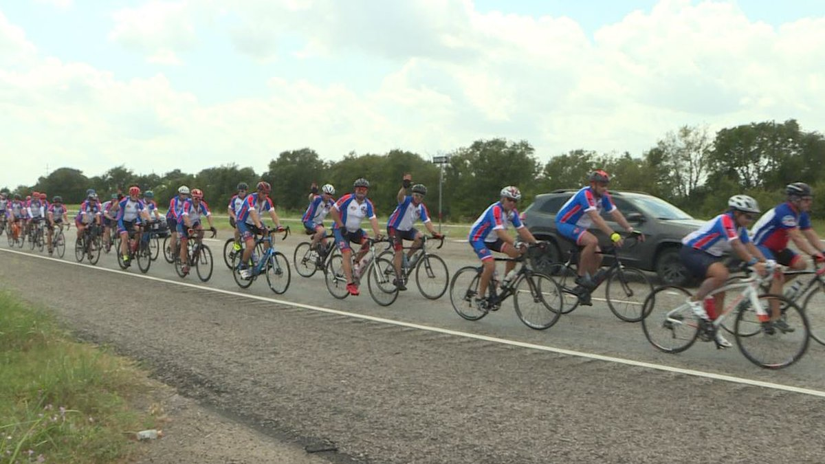 The Texas Brotherhood Ride in Central Texas