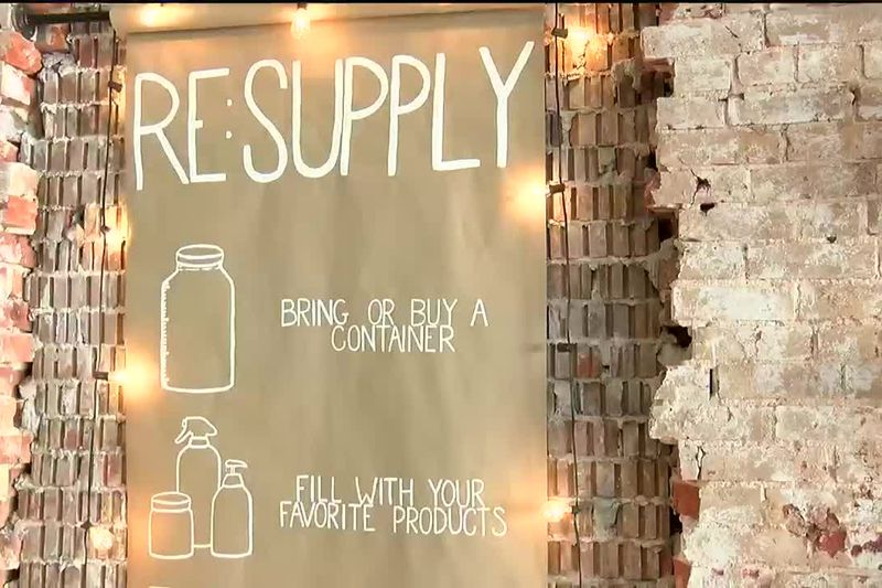 RE:SUPPLY owner encouraging community to reduce carbon footprint