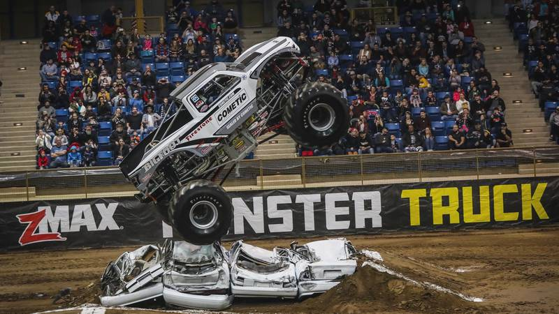 Get geared up for the Kicker Monster Truck Nationals as they make a pit stop in Wichita Falls...