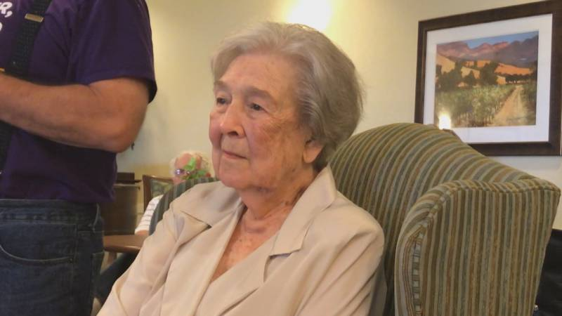 Jonnie Parker is turning 100 years old this Sunday. (Source: RNN Texoma)