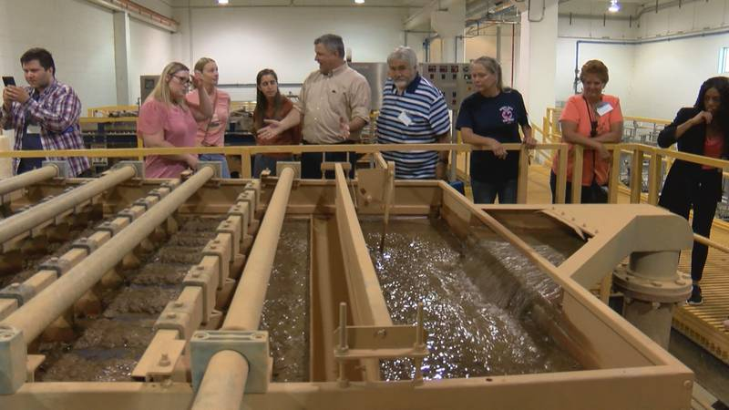 The city has two treatment plants that pump out over 5 billion gallons of water a year
