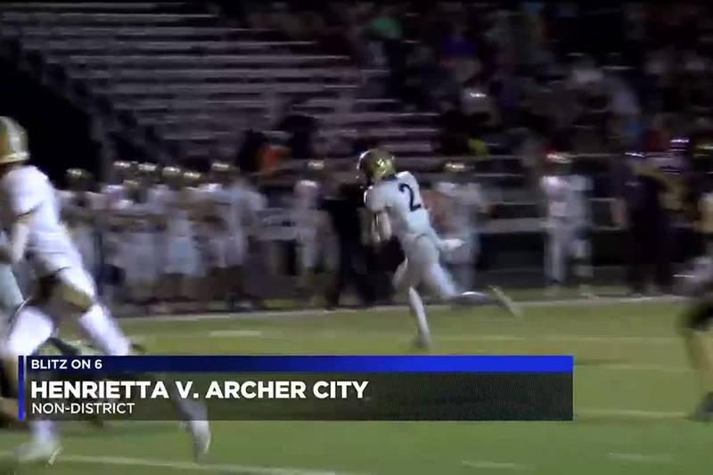 Henrietta vs Archer City football highlights