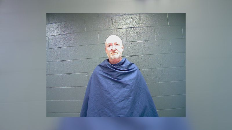 60-year-old Scott Johnson was arrested on ten charges Tuesday afternoon.