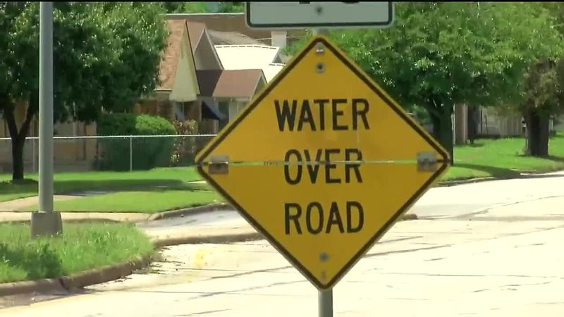 Kemp sees less flooding after drainage project