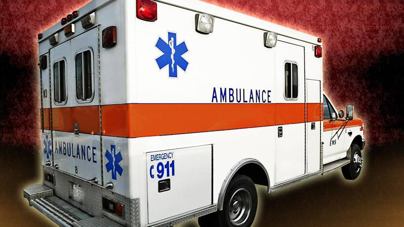 A 25-year-old from Wichita Falls was taken to a hospital after a crash in Oklahoma Sunday night.