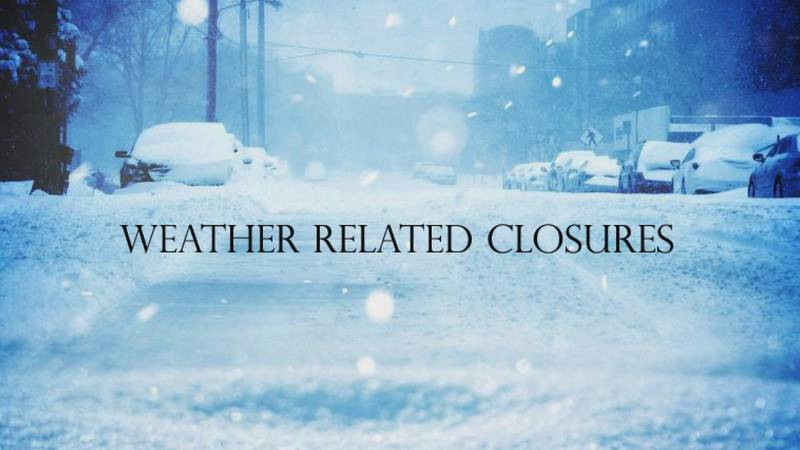 Here is a list of all the known closures scheduled for Texoma