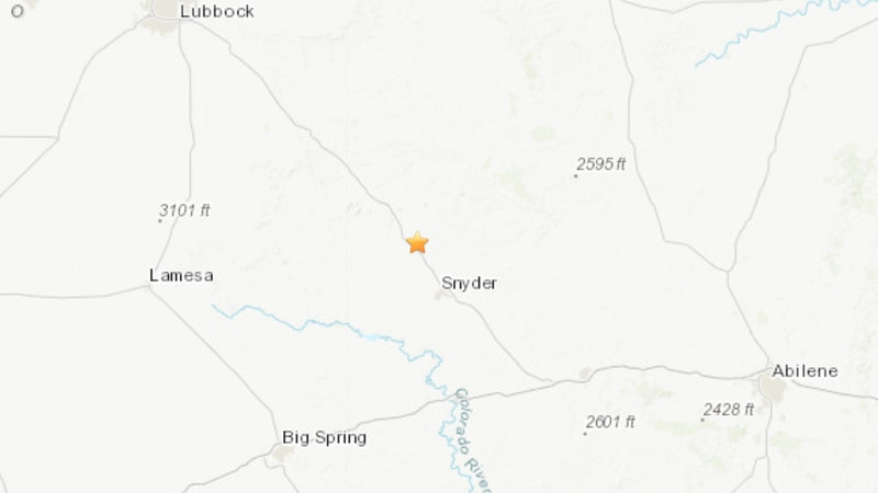 The United States Geological Survey recorded a 3.1 magnitude earthquake 18 kilometers...