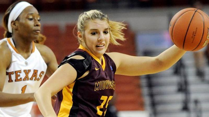 Former MSU standout Kirsti Degelia will be the next girls basketball coach at Burkburnett.