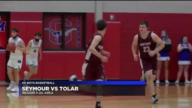 Seymour vs Tolar boys basketball highlights
