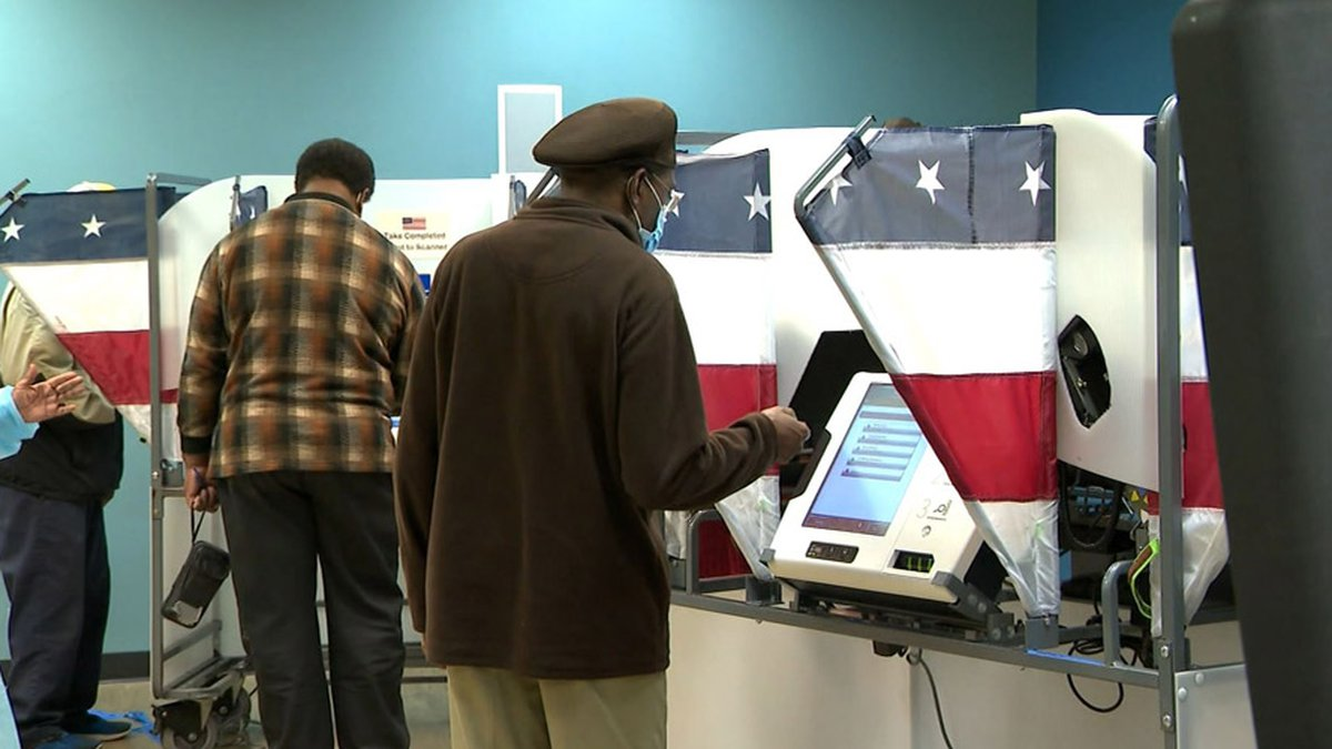 Voters cast their ballots in this file photo. Texas has become the latest state where...
