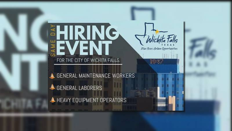 The City of Wichita Falls and Workforce Solutions are teaming up on Wednesday, Feb. 12 for a...