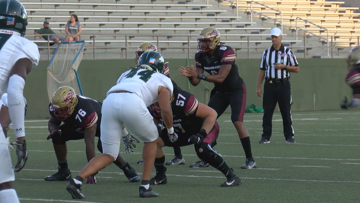 Highlights from Midwestern State's home football opener against Eastern New Mexico.