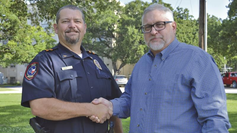 Brent Bullock was named Police Chief by the Graham City Council.