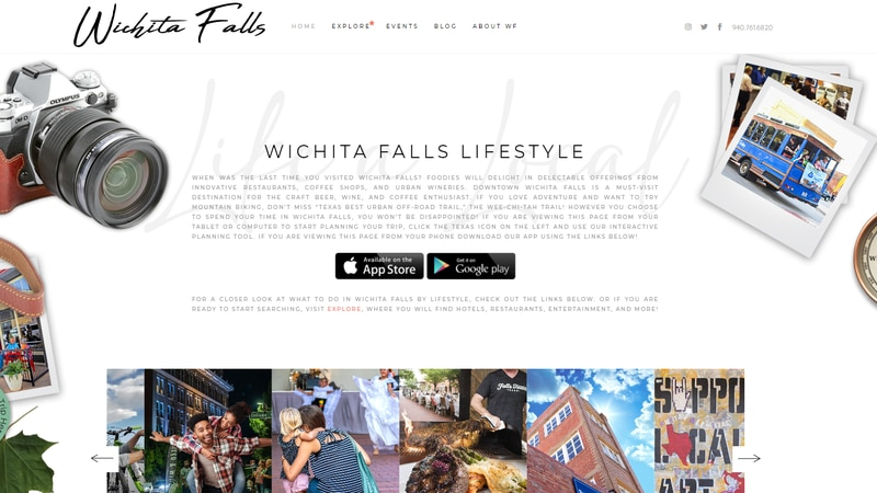 Wichita Falls CVB launches new mobile app, website for
