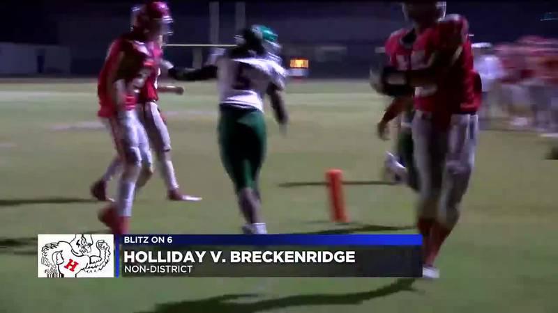 Holliday vs Breckenridge football highlights