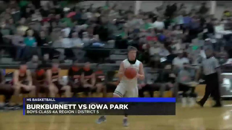 Burkburnett vs Iowa Park boys basketball highlights