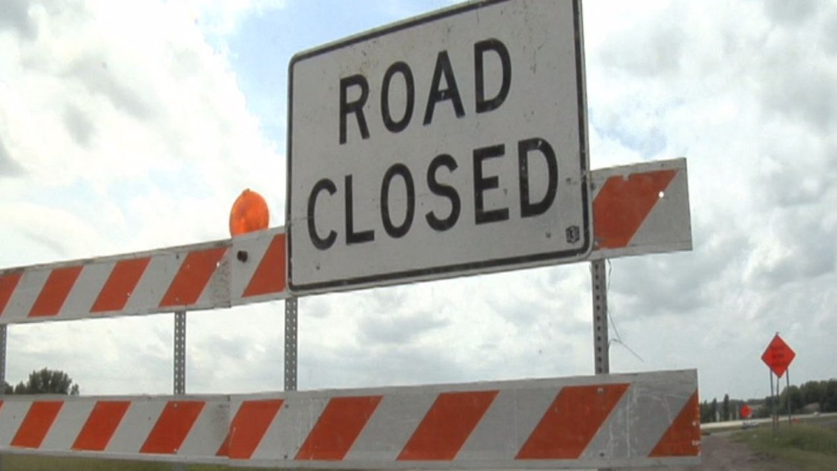 A road south of Holliday will be closed for bridge work this Friday.