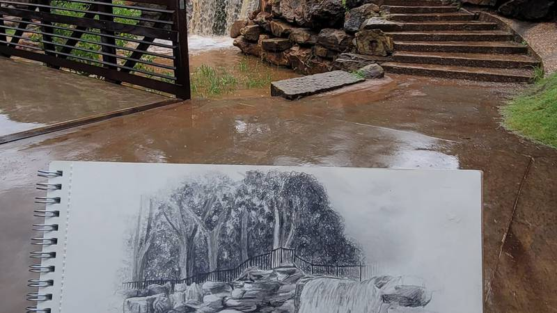 WF artist grabs attention of city
