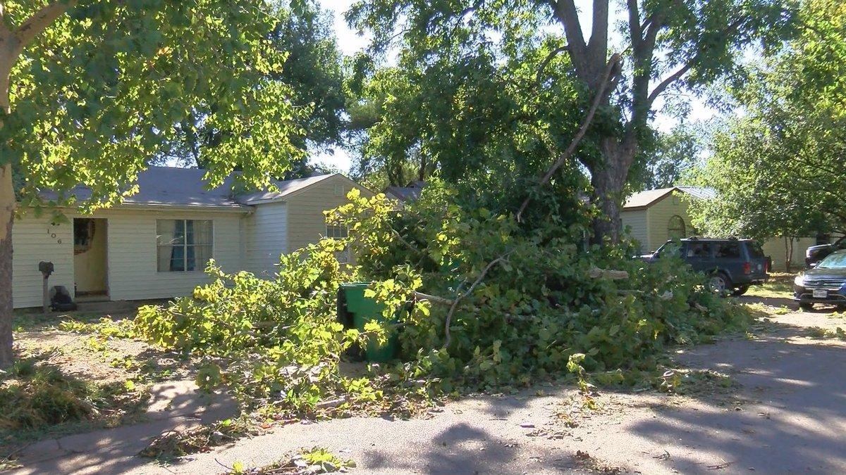 Burkburnett storm damage