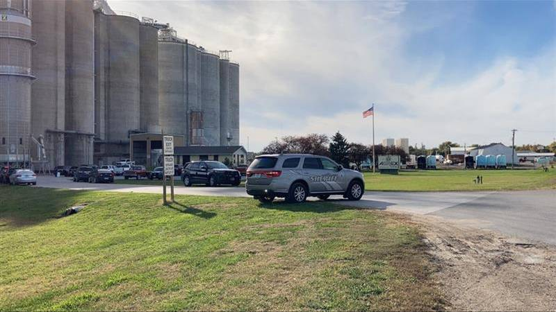 Law enforcement officers are investigating a Thursday shooting at the Agrex elevator in Superior.