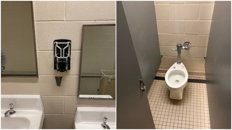 Students at Midway ISD have damaged restroom facilities as they emulate and viral challenge...